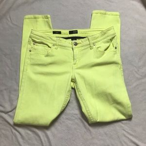 A.n.a. Ana Bright Yellow Skinny Jeans 30/10